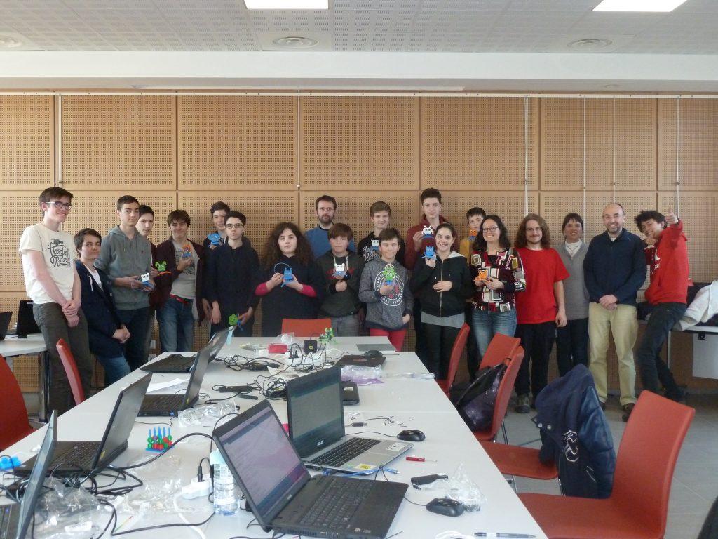 Cyberbase atelier robotique Maison du Libre Brest Morlaix