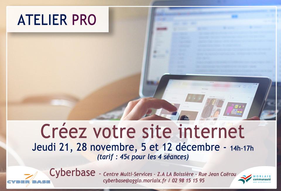 Cyberbase Morlaix Wordpress